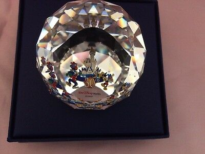 Arribas Bros 30th Anniversary Paperweight