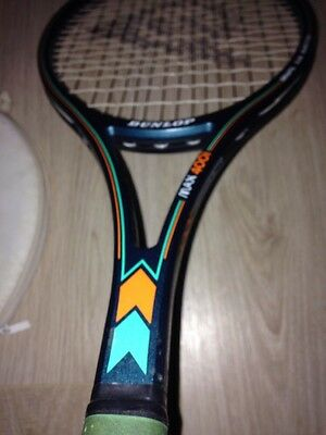 Used Dunlop Max 400i Grafil XAS L4/L4 1/2 Tennis Racquet With Poor Cond Cover
