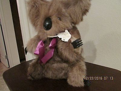 "VINTAGE  -  Plush Stuffed    ""KOALA""   (Made in AUSTRALIA)"