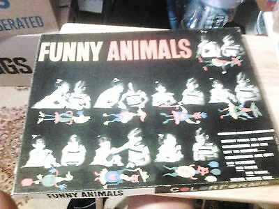 Vintage FUNNY ANIMALS  COLORFORMS BRAND NEW FROM OLD STORE STOCK # 2014