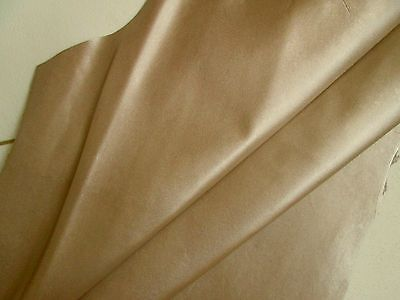Kid leather for bookbinding Lightweight 0.6mm Soft gold BARKERS HIDE N279