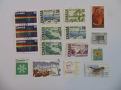L1442 - Collection Of Canada Stamps