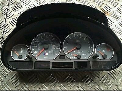 Bmw E46 M3 Clocks - Instrument Cluster - M3 Smg Clocks - Fully Working 117K