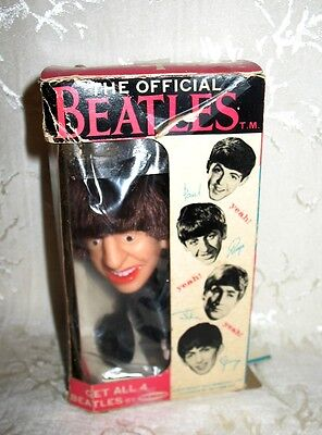 Original Beatles Ringo Doll with Drum made by NEMS ENT. Ltd. 1964 with BOX.