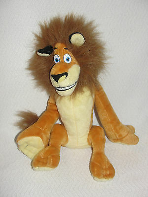 "Madagascar Alex Lion Plush Dreamworks Kohls Cares 11"" Sitting"