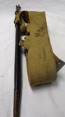 Very Rare 1907 Wilkinson Pall Mall Bayonet W/scabbard And Utility Belt