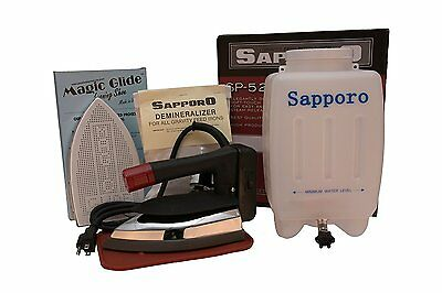Sapporo SP527/SP-527 Gravity Feed Bottle Steam Ironing System with Demineralizer