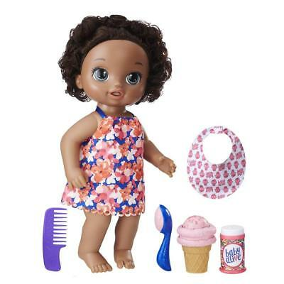 Baby Alive Magical Scoops Baby - Dark Brown Hair