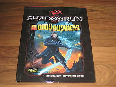 Shadowrun 5.Edition Bloody Business Campaign Book HC Catalyst Game Labs 2009