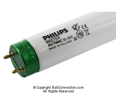 NEW Philips MASTER Actinic BL TL-D 18W/10 28671-6 59V 18W Bulb