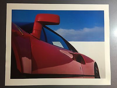 1985 Ferrari 328 Coupe Print, Picture, Poster, RARE!! Awesome L@@K