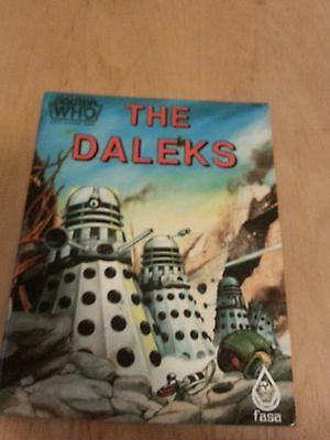 Doctor Who Role Playing book The Daleks  in mint condition Ultra rare