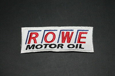 -15 ROWE Öl Oil Lube Lubricant Motorrad Aufnäher Patch Bügler Application Race w