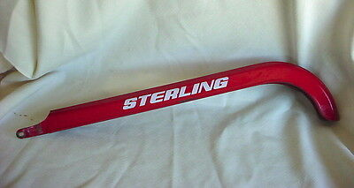 Old Vintage STERLING Bicycle CHAINGUARD Red Bike Chain Guard Columbia ?