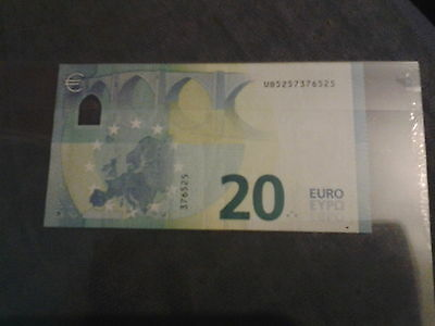billet 20 euro  neuf France Draghi n ub5257376525