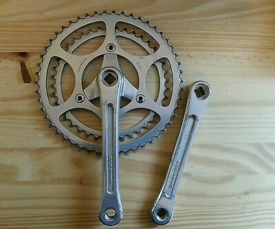 Vintage Shimano 600 1st Generation Cranks 170 Used.  French thread.