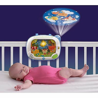 Crib Mobile Projector Good Night Light Baby Sleeping Songs
