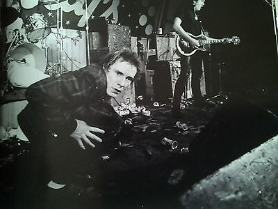 Sex Pistols Johnny Rotten on Stage 1976 Punk Small Pic 22 x 20cm to Frame?