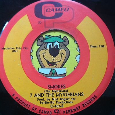 ? & The Mysterians GARAGE 45 (Cameo 467) Smokes/Can't Get Enough Of You, Baby