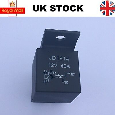 5 Pin 12v 40A Change Over Relay for Aux Lights Horns Audio Car Boat Van Truck