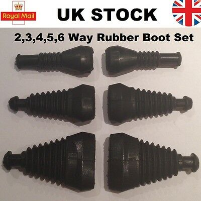 2 3 4 5 6 way pin TYCO AMP Superseal Waterproof Connector Rubber Boots Sleeve