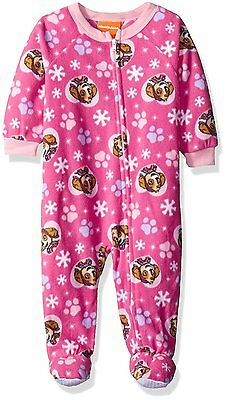 Paw Patrol Infant  Girl's Pink Footed Blanket Sleeper NWT 12M 18M or 24 Months