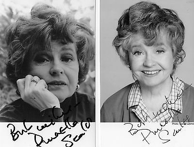 3 Authentic Signed Prunella Scales Fawlty Towers Photos  Real Signatures Coa