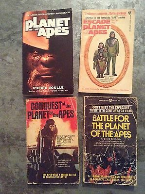 Planet of the apes paper back book set