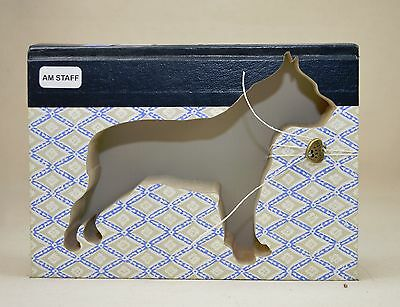 American Staffordshire Terrier Upcycled Book - 010