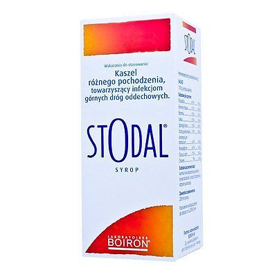STODAL SYRUP 200ml for ALL types of COUGH