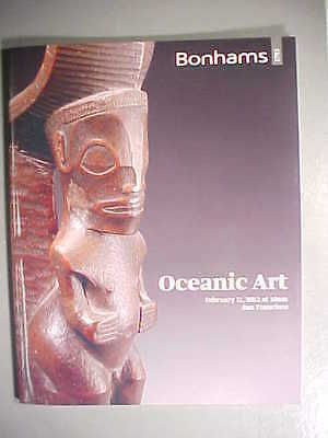 Bonhams 2/11/12 Tribal OCEANIC ART