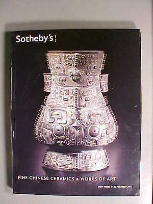 Sotheby 9/14/11 Antiqur Chinese Ceramics jade bronze