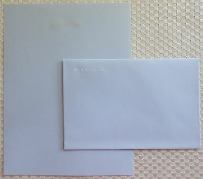 Reagan Vintage White House Stationary, East Wing Use & Guests, Sheet + Envelope