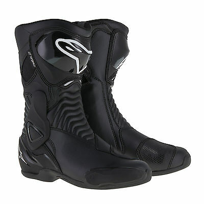 Alpinestars SMX6 Mens Motorcycle Sports Riding Road Boots - Black - 38 and 48
