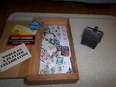 Stamp Collection and Dispenser
