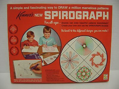 1967 Kenner Spirograph Sealed Set