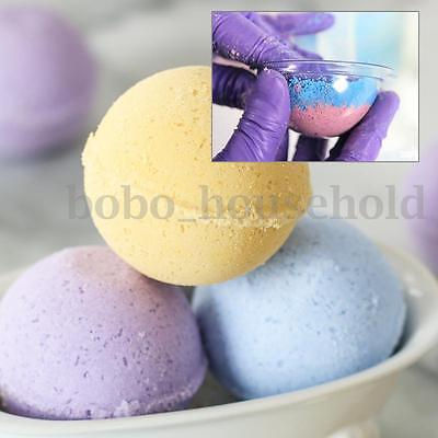2 part Clear Plastic Bath Bomb Mold with 50/60/70 mm Acrylic Mold Ball