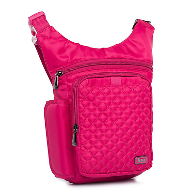 Lug Hopper Hip Pouch, Rose Pink, One Size