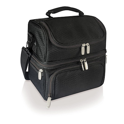 Picnic Time Pranzo Insulated Lunch Tote, Black