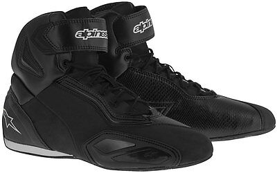Alpinestars Faster 2 Motorcycle Riding Shoes Urban Short Boots - Non-Vented