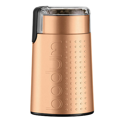 Bodum 11160-73US-1 Electric Blade Coffee Grinder, Copper