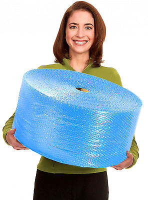 EcoBox 12-Inch Wide x 300-Feet Long Bubble Wrap with 3/16-Inch Small Bubbles, Bi