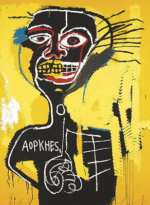 Jean Michel Basquiat Untitled Giclee Canvas Print Paintings Poster Reproduction