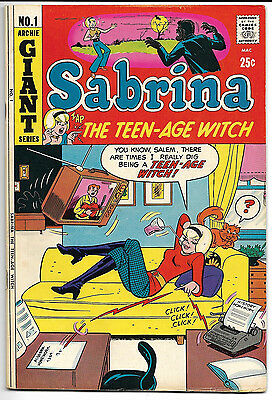 Sabrina the Teen-Age Witch #1 (1971) Archie Comics VG+ RARE!