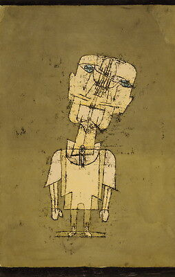 Paul Klee Ghost of a Genius Giclee Canvas Print Paintings Poster Reproduction Co