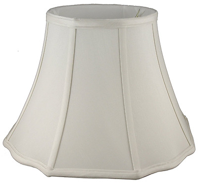 American Pride Lampshade Co. 19-78095818 Scallop Octagon Soft Tailored Lampshade