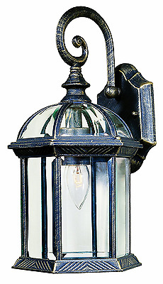 Park Madison Lighting PMO-904-20 1 Light Cast Aluminum Outdoor Wall Fixture with