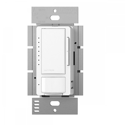 Lutron MSCL-VP153M-WH Maestro Multi-Location CFL/LED Vacancy Sensing Dimmer, Whi