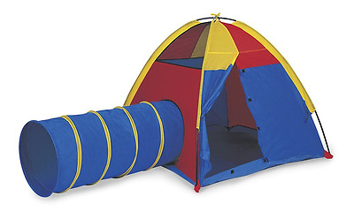 Pacific Play Tents Hide-Me Tent and Tunnel Com