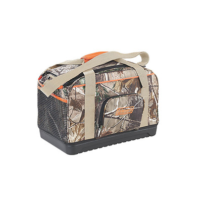 Coleman Company Soft Duffle Cooler with Hard Plastic Bottom, Camouflage